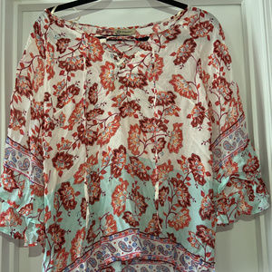 Democracy floral print blouse